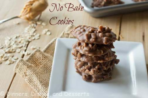 Your classic Chocolate, Peanut Butter, and Oats No Bake Cookie, Perfect for the hot summer when you don't want to heat up the house. They store great in the freezer for school lunches!