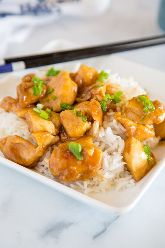 Easy General Tso Chicken Recipe is perfect for busy weeknights