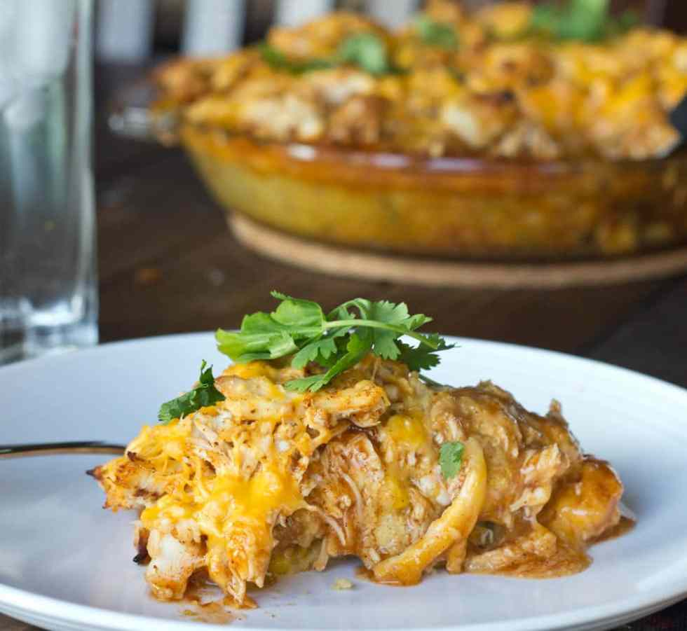 Turkey Tamale Pie {Dinners, Dishes, and Desserts}