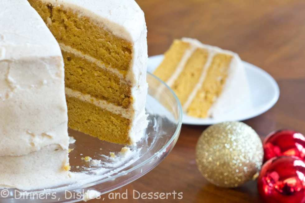 Pumpkin Dream Cake {Dinners, Dishes, and Desserts}