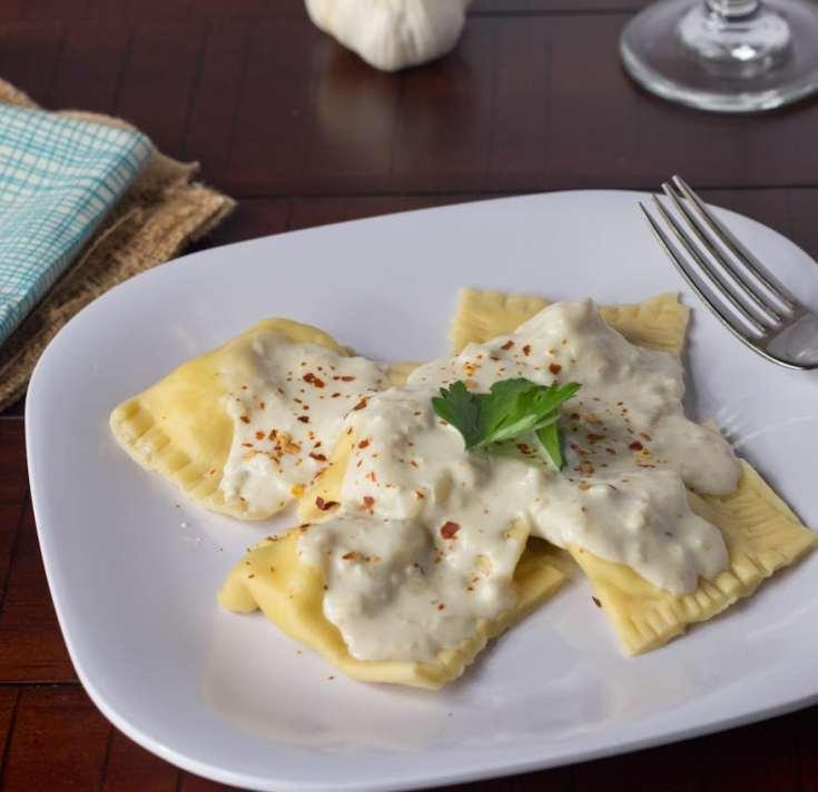 Chicken & Artichoke Ravioli