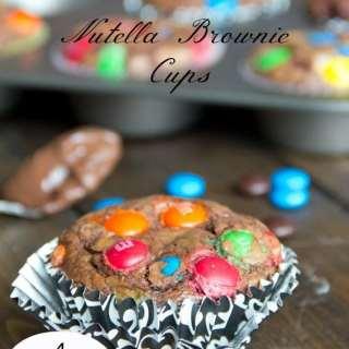 Nutella Brownie Cups