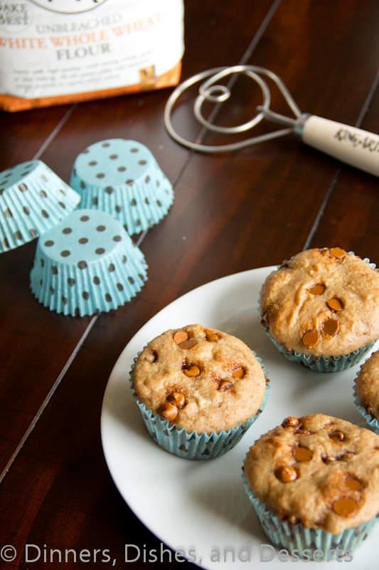 Whole Wheat Cinnamon Muffins #recipe