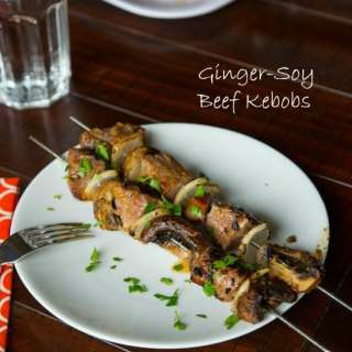 Korean Beef Kebobs