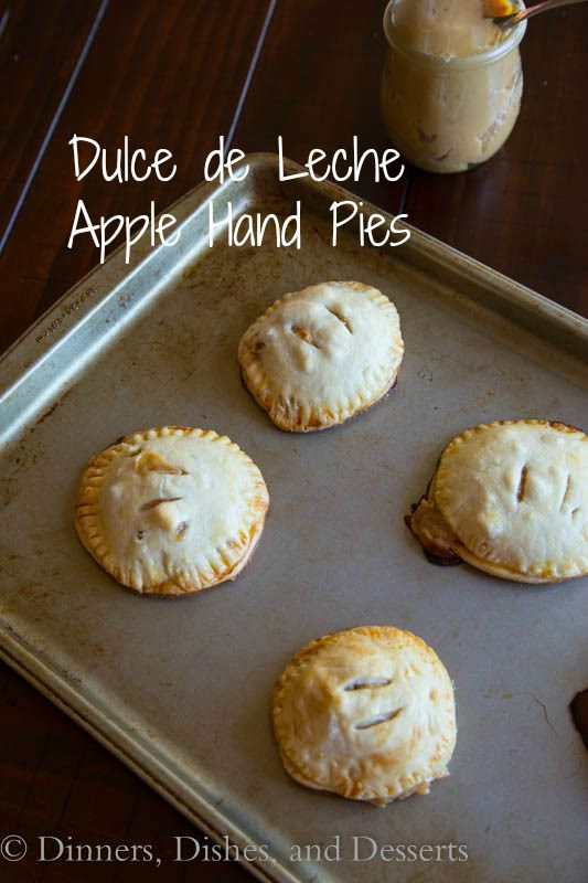Dulce de Leche Apple Hand Pies