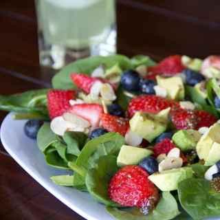 Berry Almond Salad