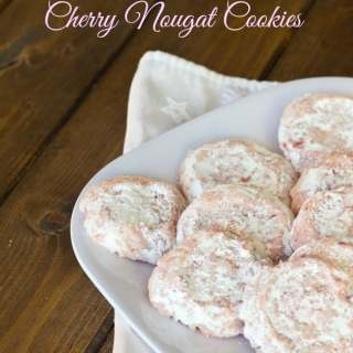 Cherry Nougat Cookie
