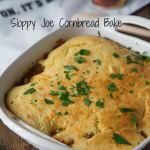 Sloppy Joe Cornbread Bake