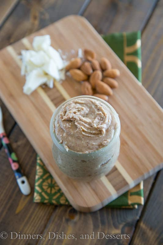 White Chocolate Almond Butter