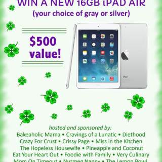 IPad Air Giveaway