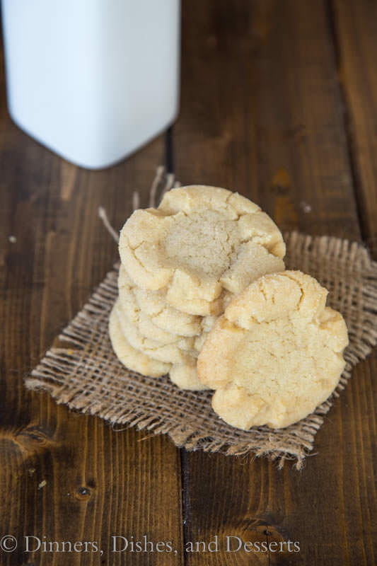 Angel Crisp Cookies - A classic cookie that is straight from my Grandma