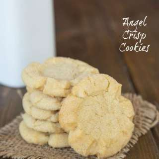 Angel Crisp Cookies - Cookies Grandma used to make!