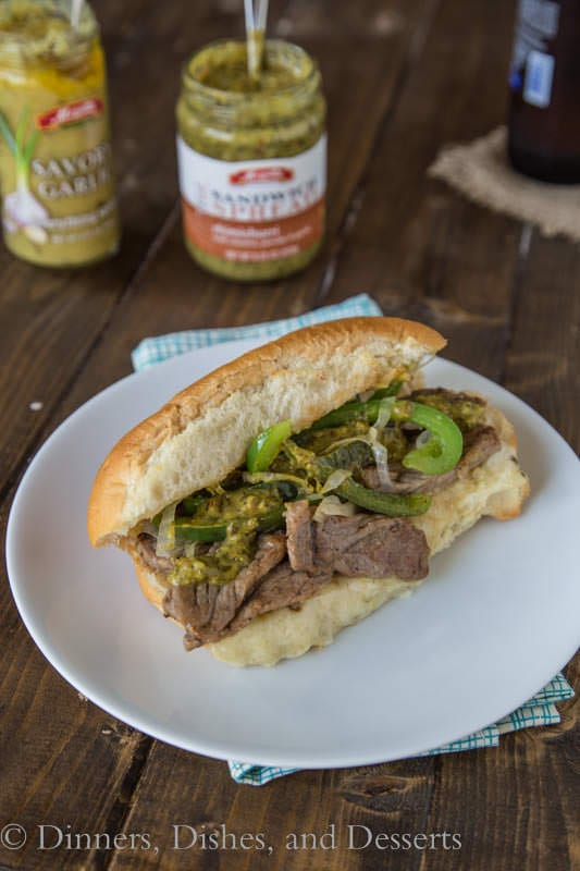 Cheesy Steak Sandwiches - quick, easy, and fun weeknight dinner
