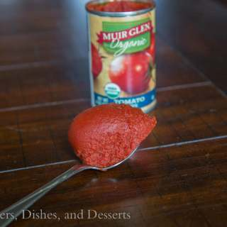 Cans get you cooking - Muir Glen Tomato Paste
