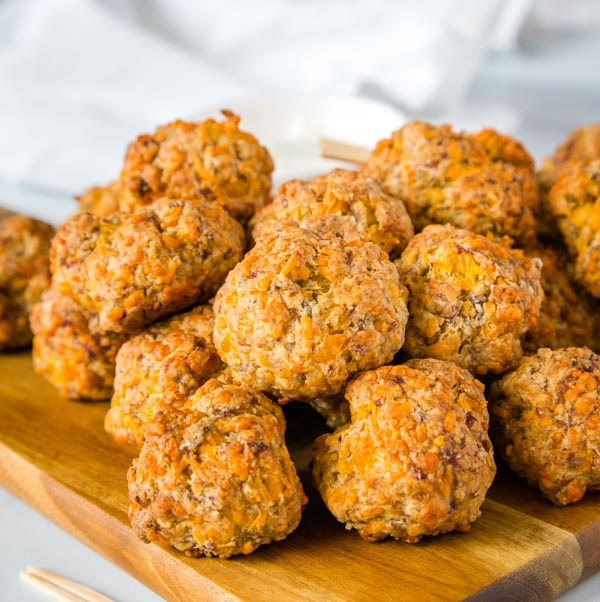 Cheesy Sausage Meatballs