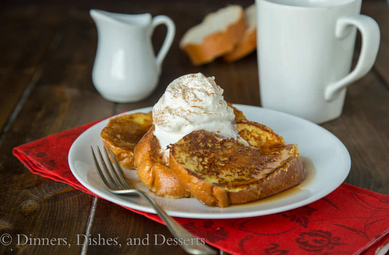 Eggnog French Toast {Dinners, Dishes, and Desserts}