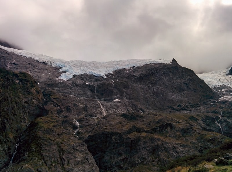Gorgeous end to the Rob Roy Glacier Hike near Wanaka New Zealand