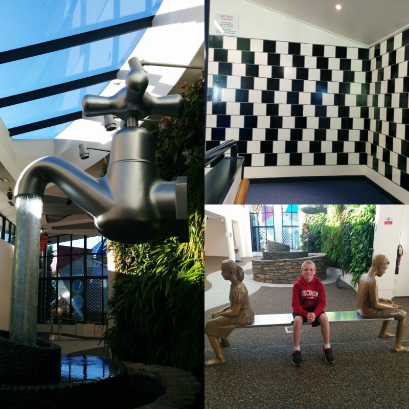 A few of the fun things from Puzzling World in Wanaka New Zealand