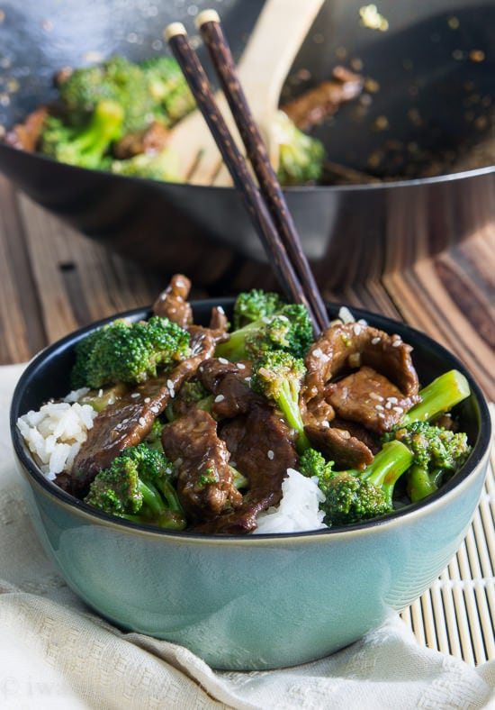 Beef with Broccoli {I Wash..You Dry}