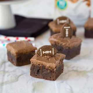 Dairy Free Brownies - rich and fudgy brownies that are dairy free and perfect for football season!