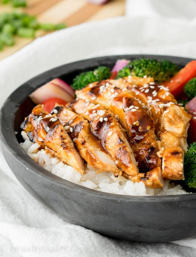 Easy Chicken Teriyaki {I Wash...You Dry}