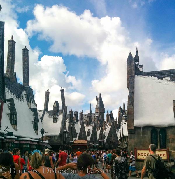Universal Studios Orlando - entrance to Hogmeade