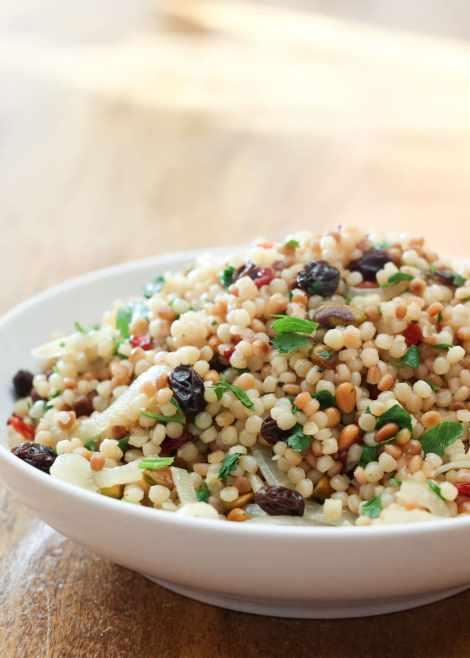 Israeli Couscous {Barefeet in the Kitchen}