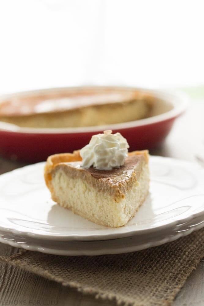 Snickerdoodle Pumpkin Pie
