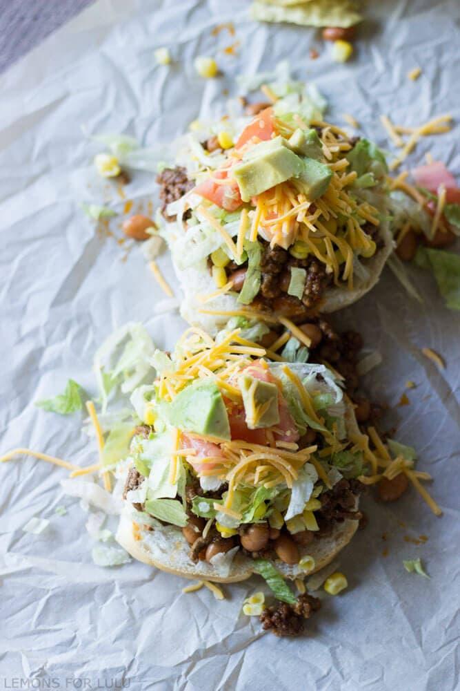 Taco Sloppy Joes {Lemons for Lulu}