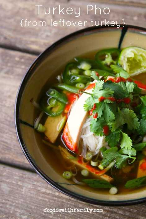 Turkey Pho {Foodie with Family}