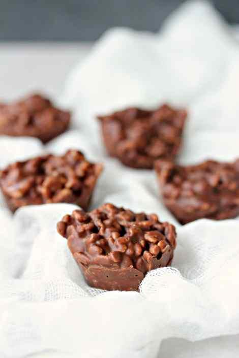 Chocolate Crunch Bites {Cravings of a Lunatic}