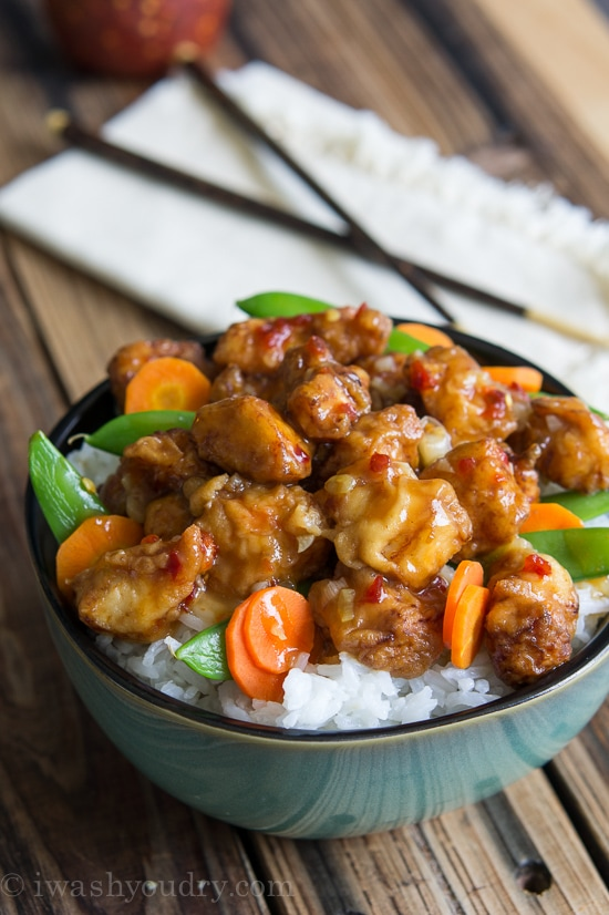 Pei-Wei Spicy Chicken {I Wash...You Dry}