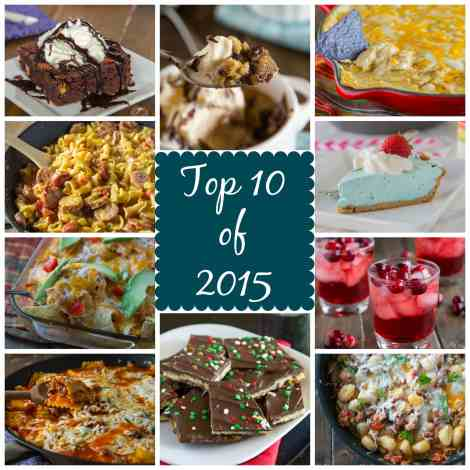 Top 10 of 2015 - the top 10 most popular recipes from 2015!