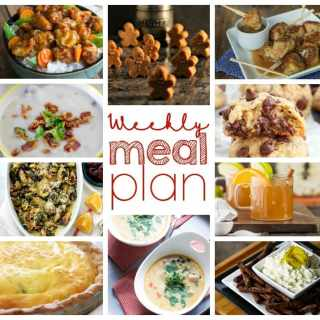 Weekly Meal Plan Week 23 - 10 great bloggers bringing you a full week of recipes including dinner, sides dishes, drinks and desserts!