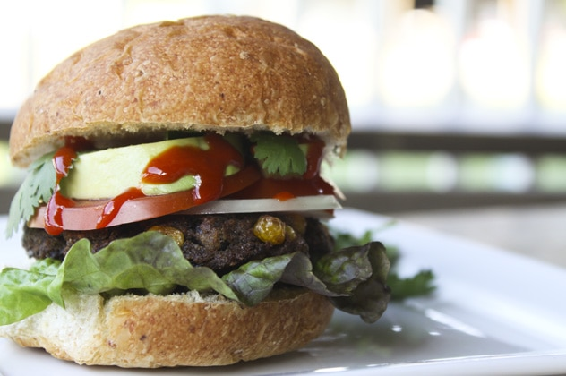 Taco Black Bean Burger {Foodie with Family}