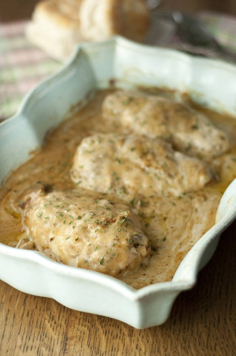 Baked Buttermilk Chicken {Wishes and Dishes}