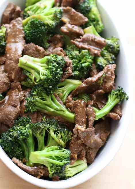 Beef and Broccoli {Barefeet in the Kitchen}