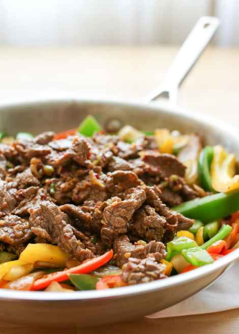 Korean Beef Bulgogi {Barefeet in the Kitchen}