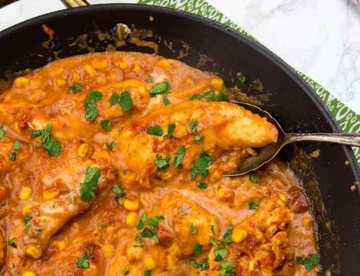 Creamy Salsa Chicken