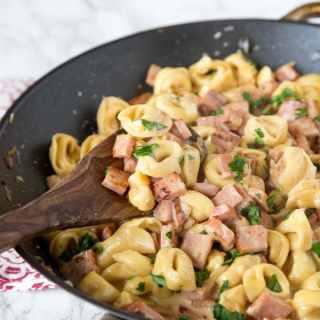 Ham & Cheese Tortellini 3 square