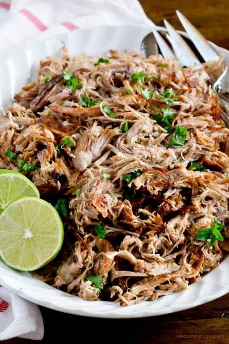 Slow Cooker Carnitas {Yellow Bliss Road}