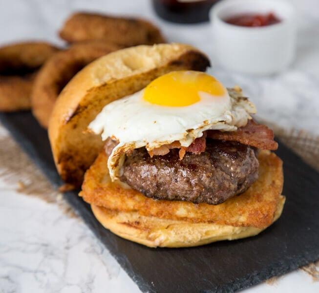 2am Breakfast Burger