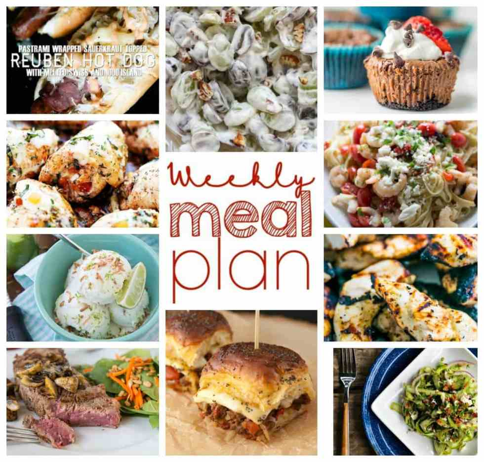 Weekly Meal Plan Week 52 – 10 great bloggers bringing you a full week of recipes including dinner, sides dishes, and desserts!