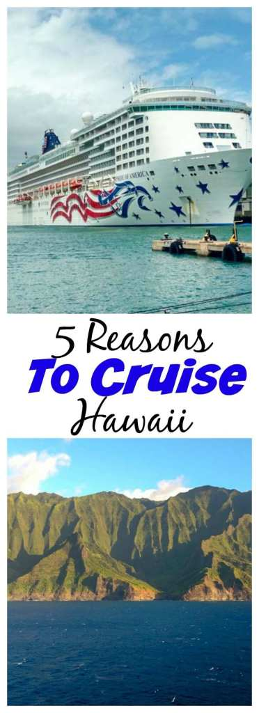 5 Reasons to go on a Hawaiian Cruise - Not sure what to do or where to go in Hawaii? Consider a Hawaiian cruise! See 5 reasons why I highly recommend it.