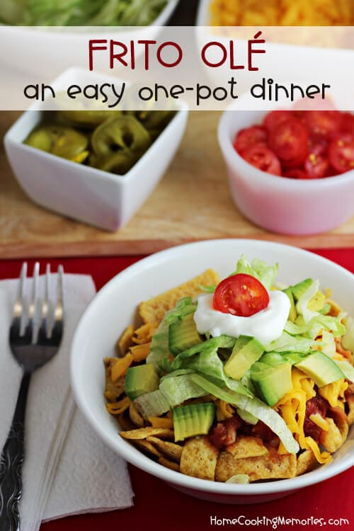 Frito Ole One Pot Dinner {Homecooking Memories}