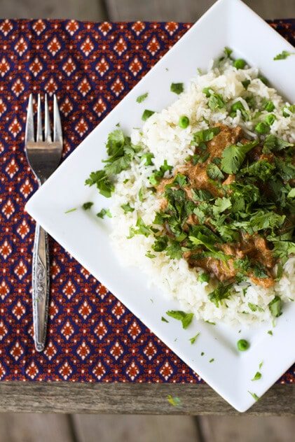 Slow Cooker Chicken Tikka Masala {Foodie with Family}