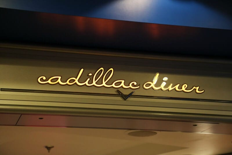 Dining Guide Pride of America - Cadillac Diner