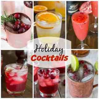 Holiday Cocktail Recipes - 15 cocktails that are ready for any holiday get together you have!