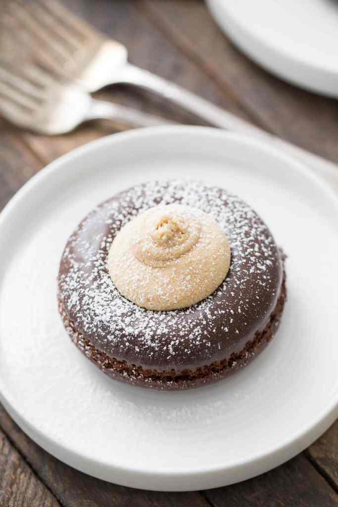 Buckeye Mini Cakes {Lemons for Lulu}