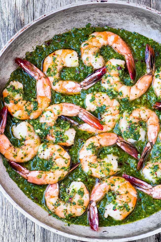 Chimichurri Shrimp {The View from the Great Island}